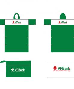 Áo mưa PVC cài cạnh_KH VPBank
