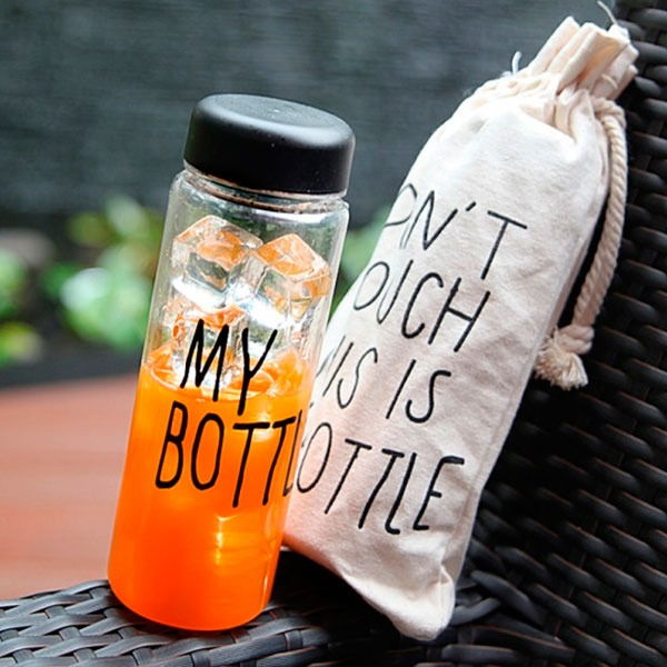 Bình nước thể thao My bottle và túi