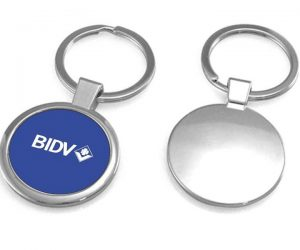 Móc khóa kim loại ngân hàng BIDV