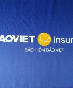 Áo mưa in logo khách hàng Bảo hiểm Bảo Việt