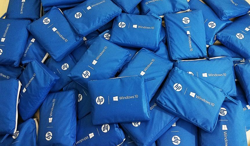 Áo mưa khách hàng HP