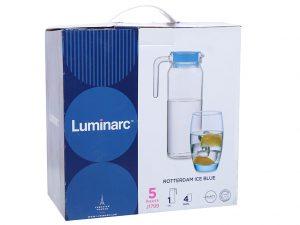 Bộ bình ly thủy tinh Luminarc