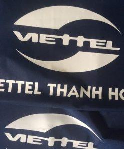 Áo mưa in logo khách hàng Viettel Thanh Hóa