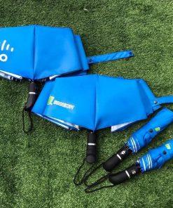 Ô cầm tay gấp 3 tự động 2 chiều in logo khách hàng SynnexFPT