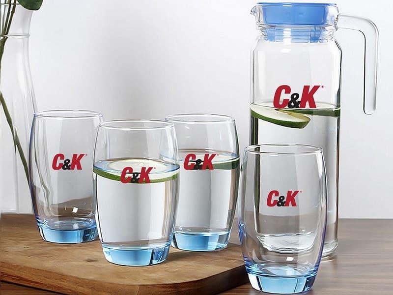 Bộ bình cốc KH C&K