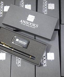 Giftset usb bút ký khách hàng Anbooks