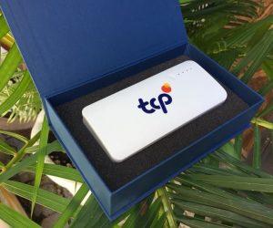 PIn dự phòng in logo khách hàng TCP