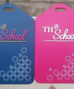Thẻ đeo hành lý THSchool