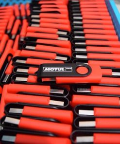 USB in logo khách hàng Motul