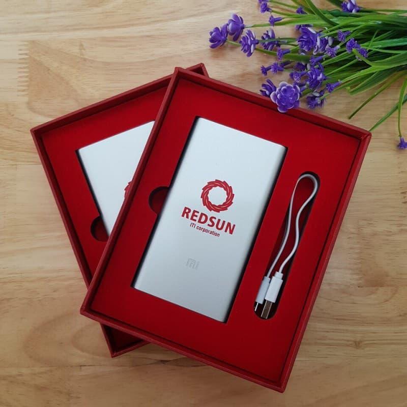 Pin dự phòng in logo khách hàng Redsun