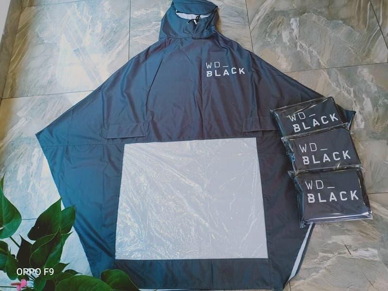 Áo mưa WD Black