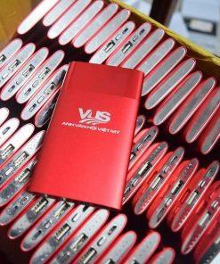 Pin dự phòng in logo khách hàng VUS